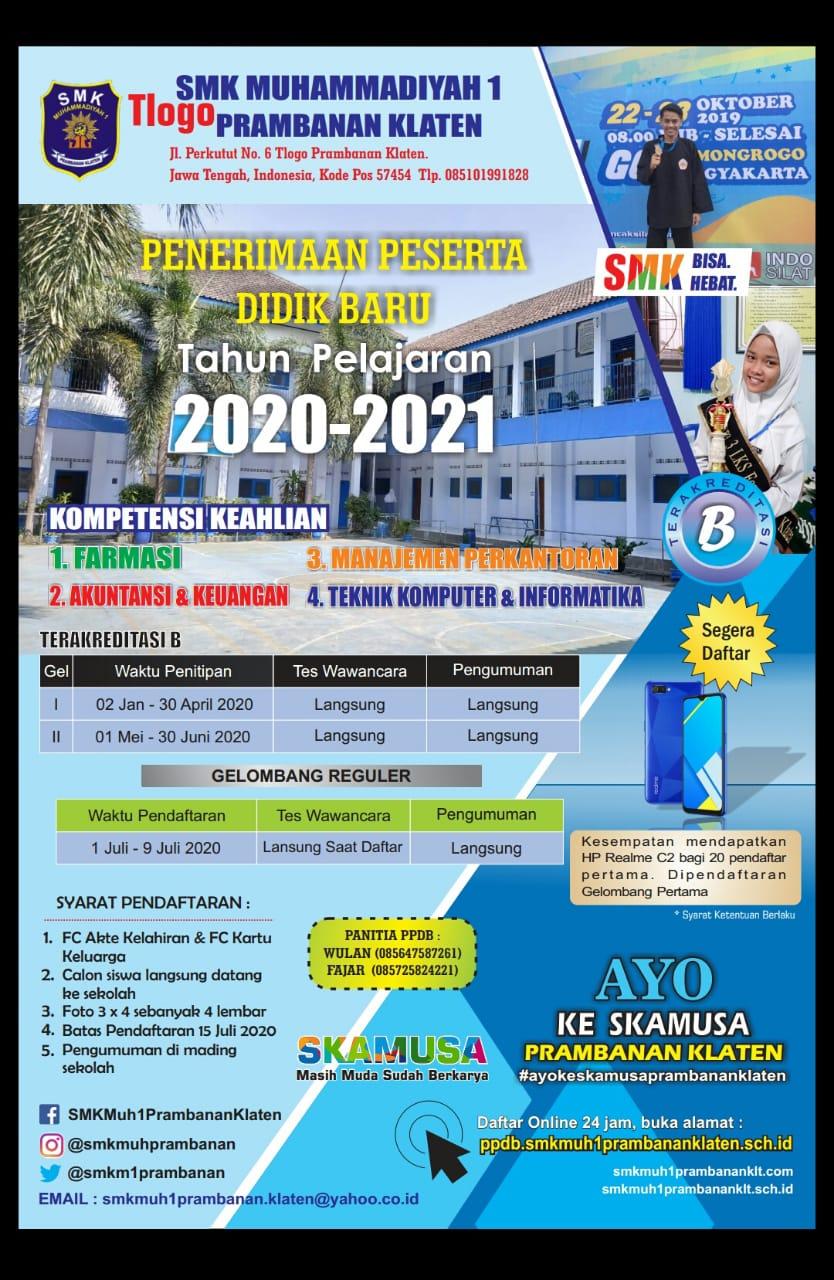 PPDB SKAMUSA 2020/2021