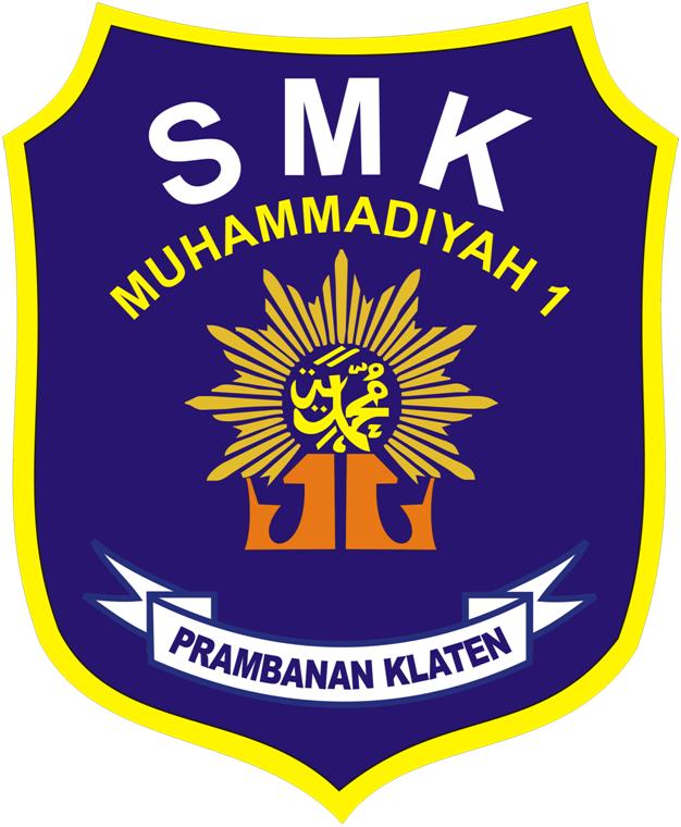 Logo SMK Muhammadiyah 1 Prambanan Klaten